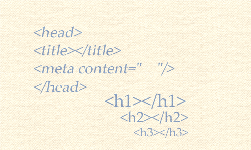 HTML-Befehle als Symbol für die Technik in der Arbeit als freier Online Redakteur